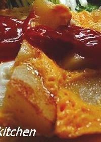スペイン風ポテトオムレツ