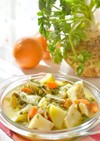 トルコの家庭料理☆根セロリのオレンジ煮