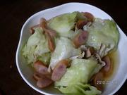 簡単ヘルシー✿豚とレタスの柚子胡椒蒸し✿の写真