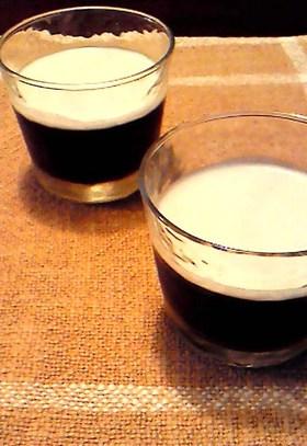 ☆ココナッツミルク・コーヒーゼリー
