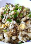 春満喫✿木の芽と山ぶきの佃煮チャーハン