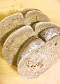 黒ビールで作るライ麦100%パン