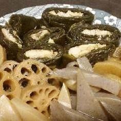 鮒の味噌昆布巻き