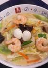 海鮮と野菜たっぷり!長崎ちゃんぽん