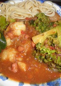 牛肉と白インゲン豆のトマトビーフシチュー