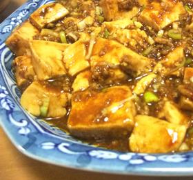 型崩れしない♪本格派の麻婆豆腐