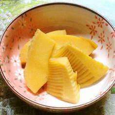 タケノコの普通の煮物