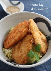 鶏胸肉のタレかつ丼