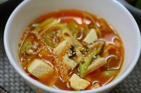 ♡簡単!豆腐のテンジャンチゲ♡