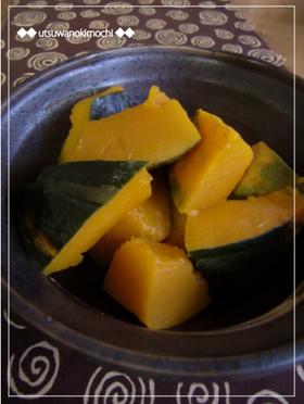 シンプルに美味しく☆かぼちゃの塩煮