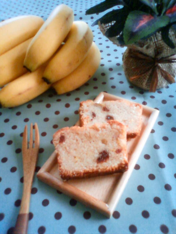 マクロビ*バナナパウンドケーキ♪♪