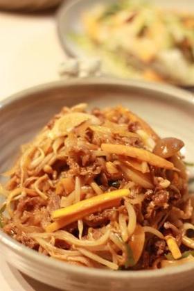 簡単韓国料理♪プルコギ♪
