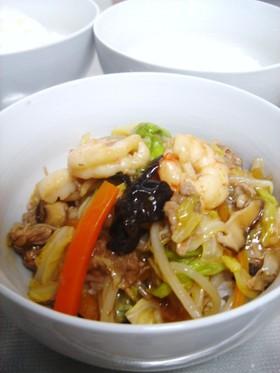 春キャベツで中華丼♪野菜がたっぷりです