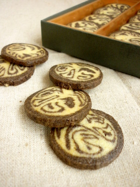 フープロで簡単♥マーブルクッキー
