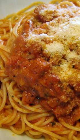 真夜中のスパゲティ