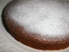 ♪簡単・ヘルシー!スイートミルクチョコケーキ♪