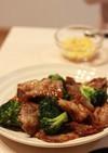 ご飯に合う!牛肉ブロッコリーのオイスター