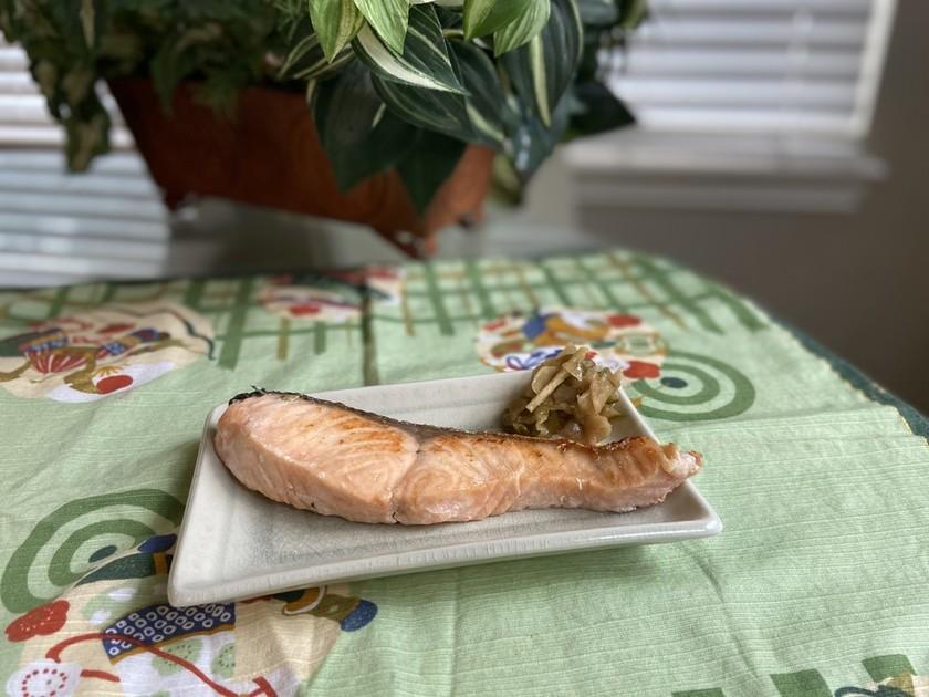 ☆家で簡単☆塩鮭の作り方