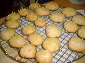 レモンと蜂蜜のドロップクッキー