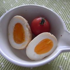 材料3つだけ♪卵の味噌漬け