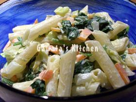 ☆簡単☆ゆで野菜とペンネのマヨサラダ