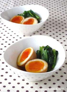 オイスターで絶品♥半熟煮卵!