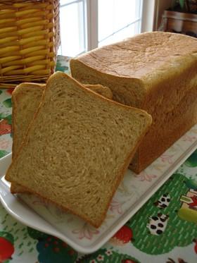 全粒粉を味わおう♪食パン♪