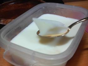 ゼラチンで☆牛乳かん