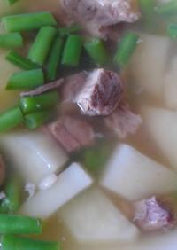 肌プリプリコラーゲン☆牛テールのスープ