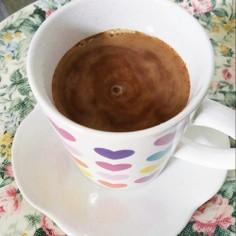 カフェオレ?ホットチョコレート?