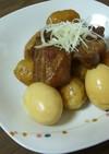 すき焼きのタレでトロトロ角煮