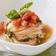 トマトの冷製スープパスタ