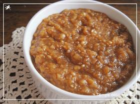 保存食で楽ちん!水煮大豆の肉味噌風