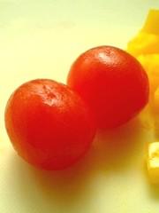 簡単*プチトマトの湯むきの写真