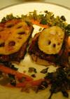 うなぎとレンコンの甘辛ステーキ