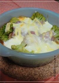 モッツァレラと豆腐のオーブン焼き