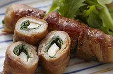 エリンギと豚肉のスタミナロール