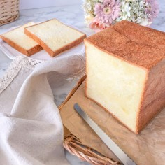 ふわふわリッチな卵ミルク食パン♪HB
