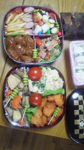 運動会 お弁当 ~カリフラワーのサラダ~