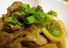 筍(淡竹〜はちく〜)と豚肉甘辛煮