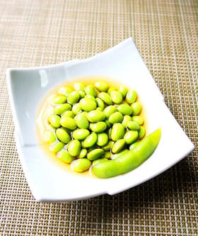 枝豆で♪簡単浸し豆