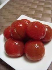 ☆真っ赤なトマトの甘~い麺つゆ浅漬け☆の写真