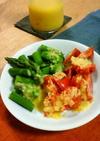 玉葱と菜種油のドレッシング