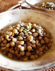 レンズ豆の煮込みの写真