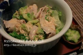 白菜と豚の冷しゃぶ