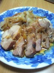 簡単に料理したい! 豚肩ロースブロックの写真