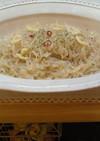 ダイエット☆しらたきペペロンチーノ
