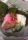 ちょっと頑張って作ってみてね☆朴葉寿司♪