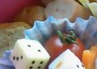 キャラ弁☆チーズサイコロ簡単おかず