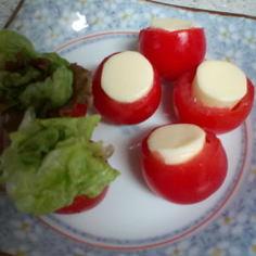 お弁当に♪ミニトマトカップ